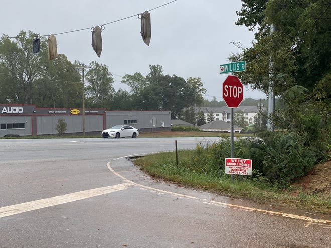 A traffic light will be activated after the New Year at the intersection of Willis Road and Highway 29 in Spartanburg.
