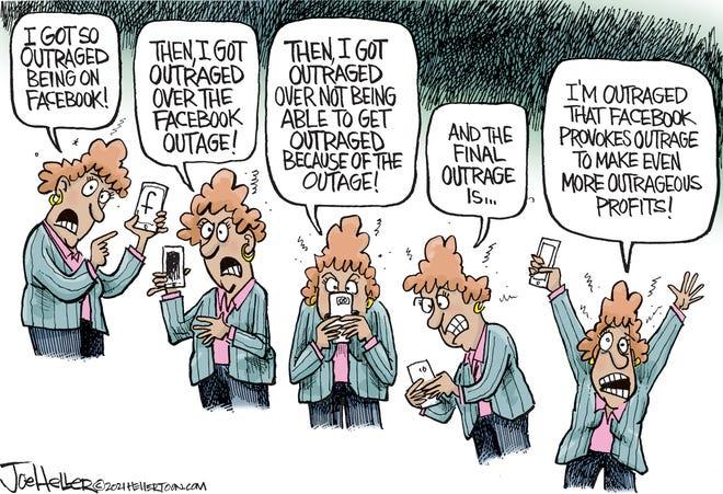 Facebook outrage
