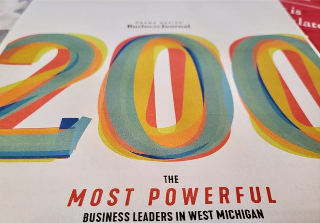 More than a dozen business leaders with lakeshore connections made the Grand Rapids Business Journal's list of the most powerful business leaders in West Michigan.