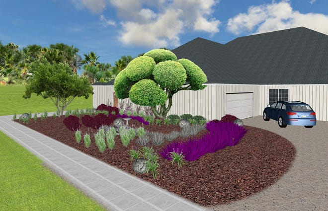 Claudia Perez-Gianoli draws up detailed plans for homeowners to carry out themselves. The virtual landscape designer recently moved her business from Florida to West Michigan.