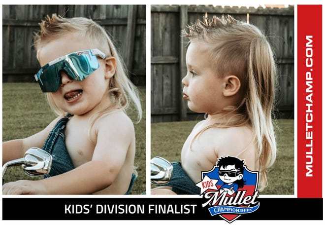 Brantley Kirwin is a top 25 finalist in the 2021 USA Mullet Champs Kids Division. Voting is open through Oct. 11.