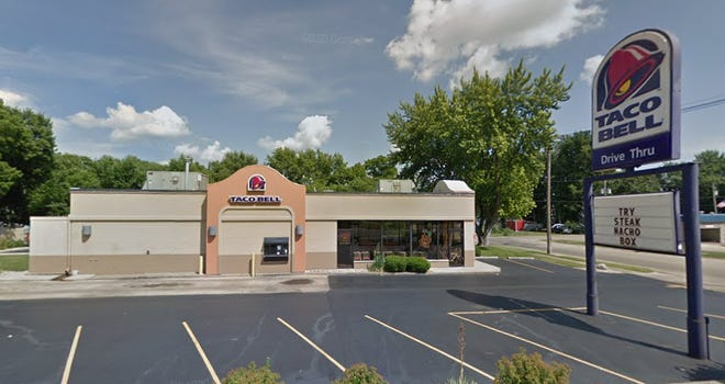 The Taco Bell restaurant in Chillicothe, before it was razed to make way for a new one expected to open sometime in 2022.