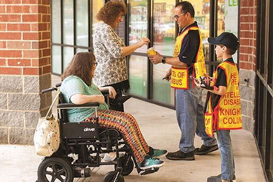 The annual Knights of Columbus Tootsie Roll Drive will be this weekend.