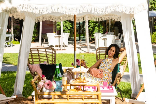 The Royal Poinciana Plaza will introduce its Après Beach event series next month. Guests can book a cabana styled by a Royal retailer, choose a selection of snacks and drinks, and enjoy live music, prizes, pop-up shops and photos.