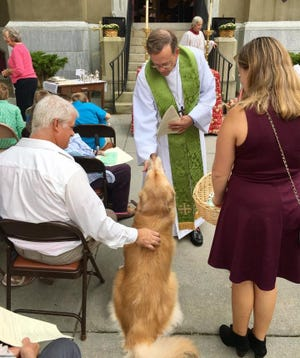 St. Paul's Episcopal Church Blessing of the Animals 2016 in Petersburg, Va.