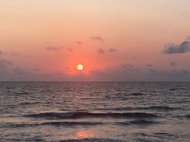 Sunrise at South Ponte Vedra Beach.