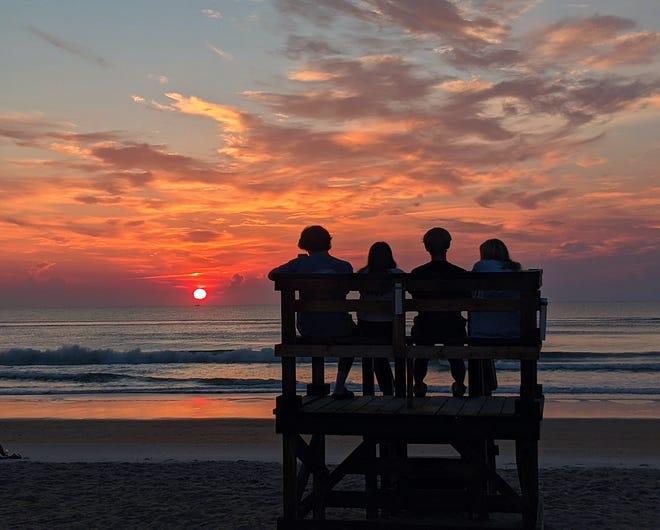 Four early risers from North Carolina and Georgia: Ashlyn, Cyrus, Ellijay and Suparna.