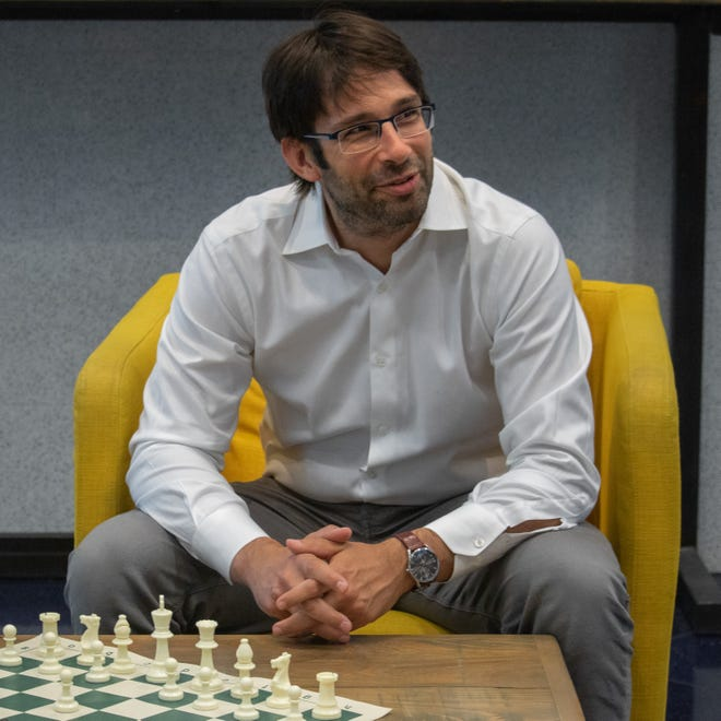 Chess Grandmaster Pascal Charbonneau is a two-time Canadian chess champion and Sarasota resident. His career includes a victory over former World Chess Champion Vishy Anand.