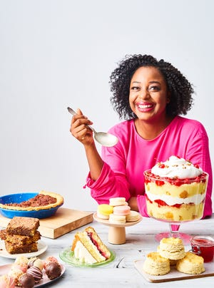 Vallery Lomas is a lawyer turned baker.