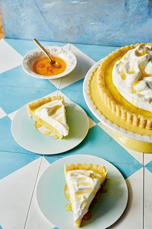 This lemon surprise tart is a game changer.