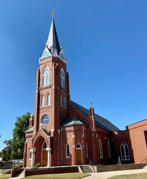 St. Benedict Church celebrates its 125th anniversary this weekend.  The current building was dedicated in 1907.