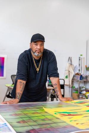 Artist Jeffrey Gibson