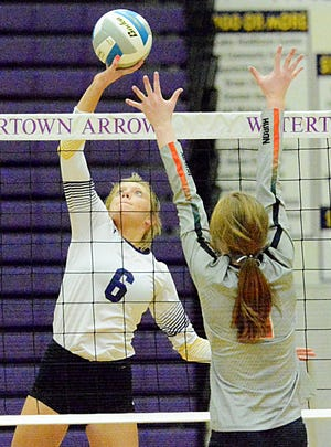 Eve Hauger and the Watertown High School volleyball team are set to host the East-West Volleyball Classic on Friday and Saturday in the Civic Arena. Six teams will play five matches apiece over the two days. Play opens at 4 p.m. on Friday and 9 a.m. on Saturday.