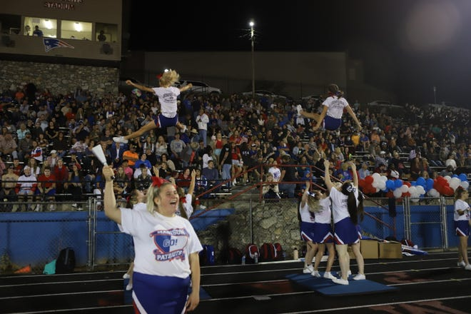 Fans packed O.E. Roberts Stadium for homecoming night Oct. 1.