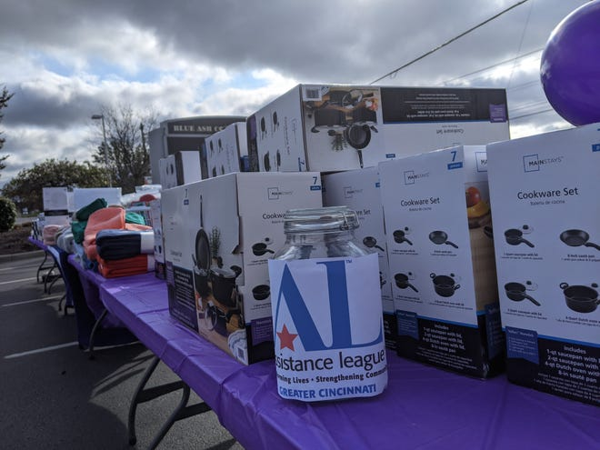 Last year, more than $3,000 in household goods were collected at a Blue Ash drive to support domestic violence survivors. This year's event is Oct. 23 in Blue Ash and Oakley. The sponsors are the Assistance League of Greater Cincinnati and the Montgomery Women's Club.
