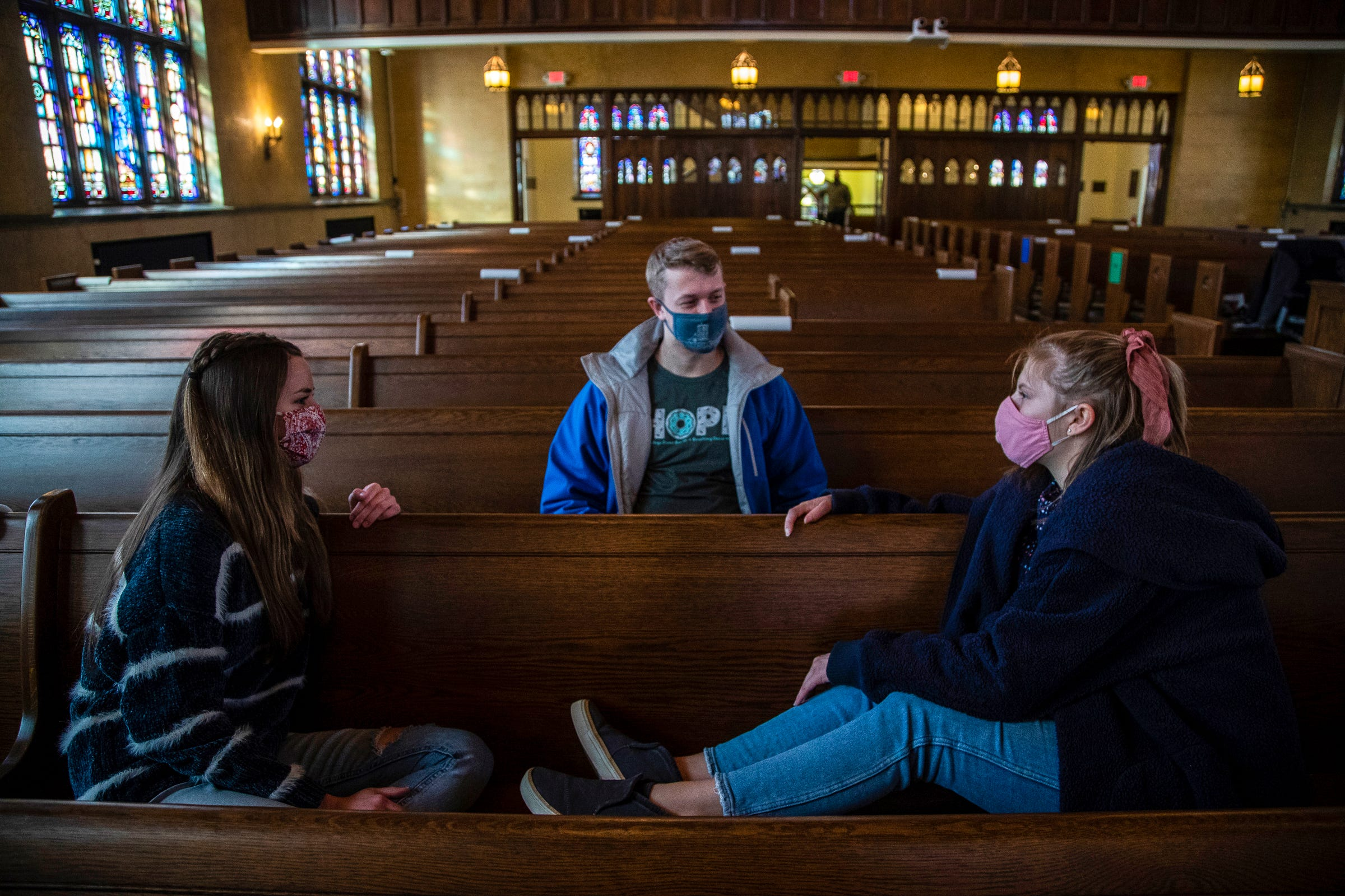 Something unusual is happening at many small, conservative Christian colleges: They're growing