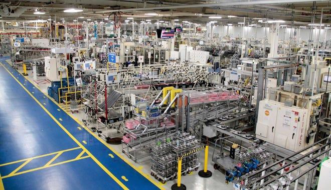 The FCA US Kokomo Transmission Plant in Kokomo, Indiana.