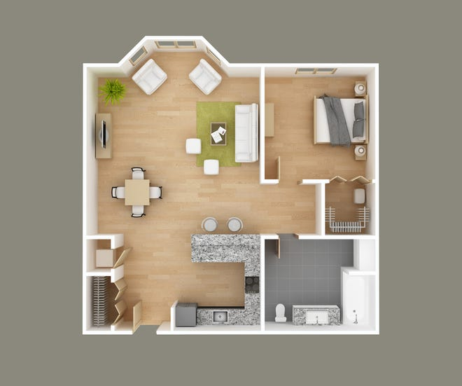Beyond bedrooms and bathrooms, think about the other spaces you would like to have in your new home.