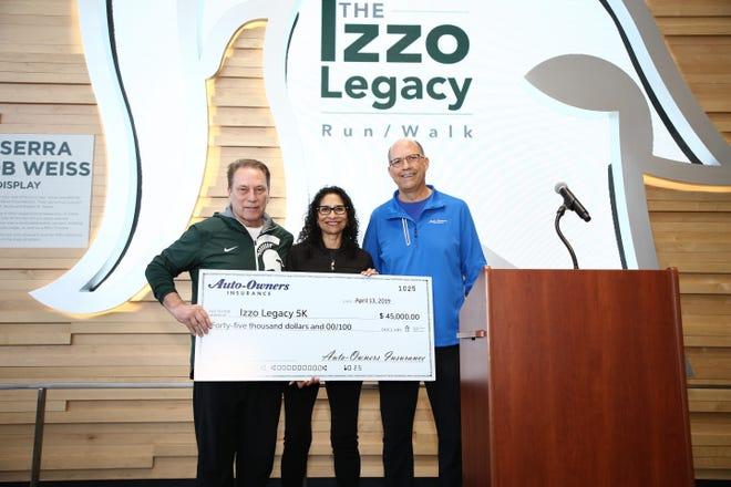 Tom and Lupe Izzo started the Izzo Legacy 5K in 2019 as a way to celebrate their time in East Lansing and to raise money for the community they met in.