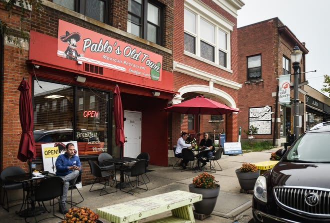 Pablo's Old Town Mexican Restaurant on East Cesar Chavez Avenue in Old Town, pictured Thursday, Oct. 7, 2021.  The restaurant is opening a new location on East Michigan Avenue.