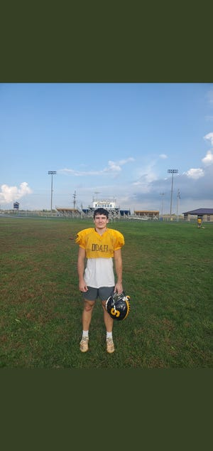 Shenandoah's Dylan Ayres was named The Star Press football Player of the Week from Week 7. It was the second straight time Ayres won the award.