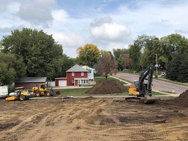 Construction of a new Dollar General store at 2701 E. 17th St. started Thursday.