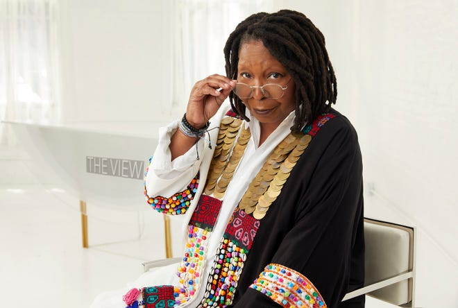 """Whoopi Goldberg on """"The View."""""""