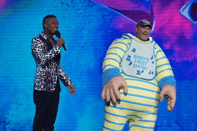 The Masked Singer' recap: Larry the Cable Guy under the Baby costume