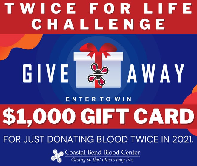 Coastal Bend Blood Center Launches Twice for Life Challenge