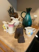 Pictured are some of the finds Shannon Thompson purchased during the first weekend of the Spoon River Scenic Drive.