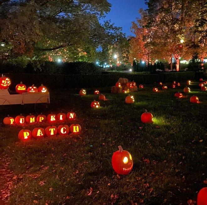 Pumpkins Aglow runs through Oct. 31 at Franklin Park Conservatory and Botanical Gardens.