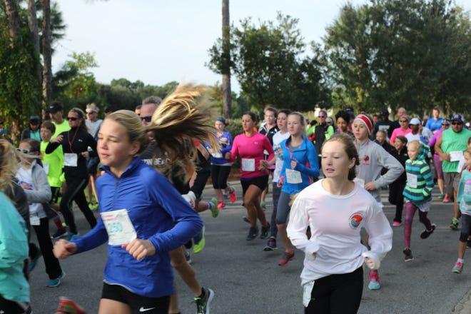 The sixth annual LuLu's Marlin 5K Walk/Run will benefit local cheer teams.