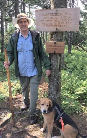 An avid hiker, former Gardner High three-sport athlete Jim LaFreniere is pictured while completing a hike up Mount Cabot in Berlin, New Hampshire. LaFreniere has trekked to the summit of all 48 of New  Hampshire's 4,000-foot tall mountains.