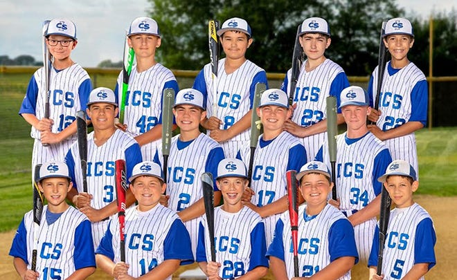 The Monmouth ICS baseball team recently competed in the Class 1A state tourney.