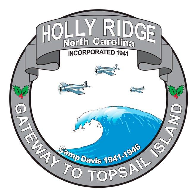 Town of Holly Ridge seal