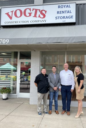 Vogts Construction Company based out of Newton  was purchased on Sept. 30, 2021, by employees Cody Palmer, President, John Marble, Vice President and Jessica Lempke, Controller from founder Alan Vogts.