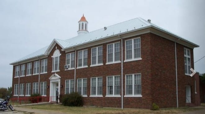 The old Kincaid High School has been turned into a community center.