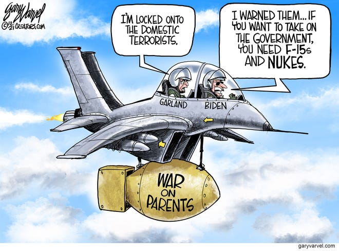 Today's editorial cartoon (Oct. 11 2021)
