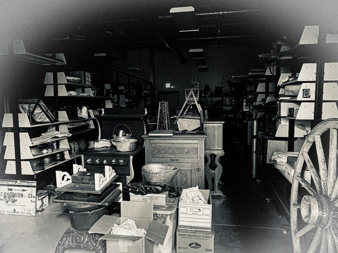 One of our storage rooms at the McPherson Museum  guests will have access to during a paranormal investigation coming up Oct. 15 and 16.