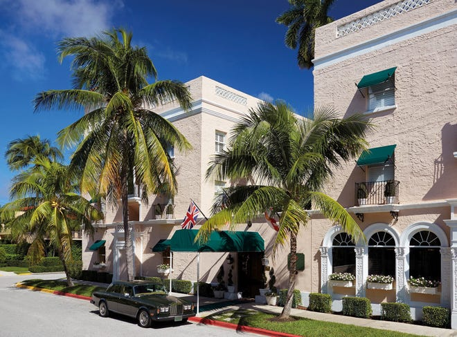 The Chesterfield was named the No. 1 hotel in Florida in the Conde Nast Travelers Readers Choice Awards.