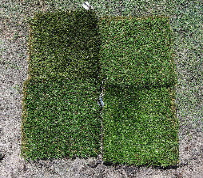 New regulations on the use of artificial turf within the town will be considered by the Town Council at its meeting Tuesday at Town Hall.
