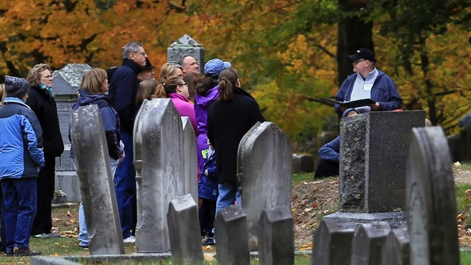 The Brick Store Museum will once again present the All Souls' Walk at Hope Cemetery in Kennebunk on Oct. 23.