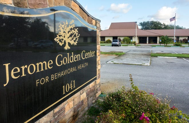 The Jerome Golden Center for Behavioral Health, which filed for bankruptcy, October 3, 2019.