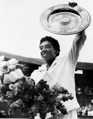 Althea Gibson: Before she became the first Black person to win Wimbledon, the trailblazer spent part of her youth in Wilmington. A Williston High School graduate, she honed her tennis game at the home of Dr. Hubert Eaton, who had a court behind his home on Orange Street.