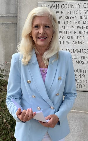 Becky Nordrgren began her new post as Etowah County's revenue commissioner on Oct. 1, after serving 11 years in the Alabama Legislature.