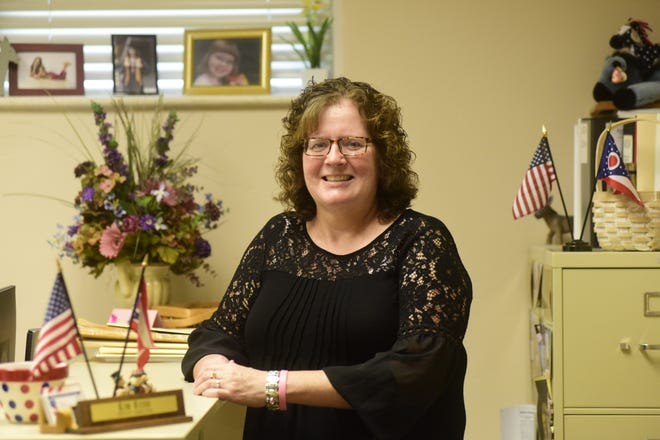 Kim Rudd, Deputy Director of the Crawford County Board of Elections, has been battling stage-four invasive ductal carcinoma, an advanced-stage breast cancer, since June of 2019.
