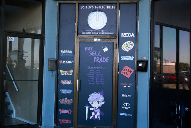 Cotten's Collectibles is a local game store located in the Cedar Stone Shopping Center. It previously was located in the Corpus Christi Trade Center.