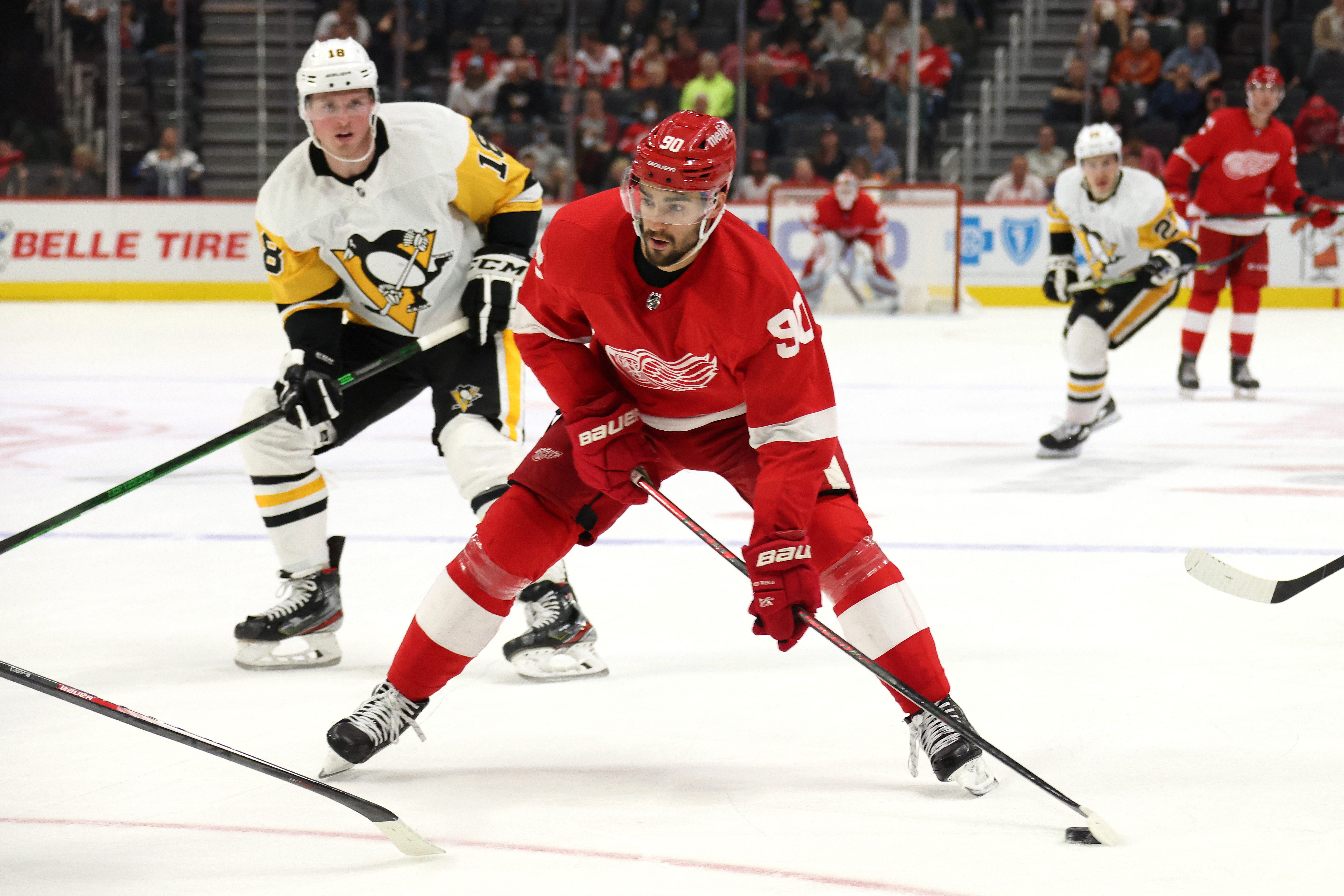 Joe Veleno has to make Detroit Red Wings 'significantly better' to make roster