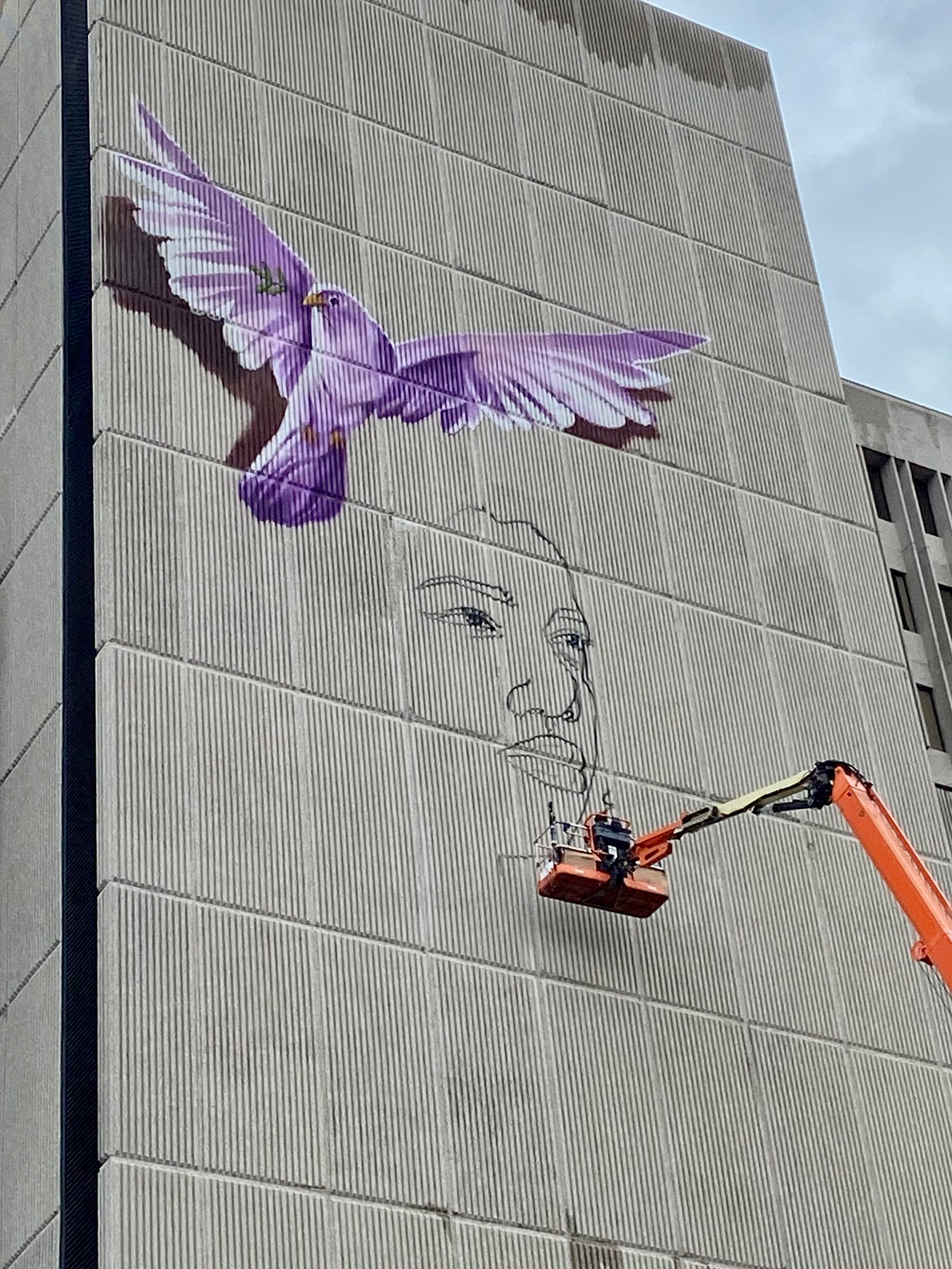 New Detroit mural to 'plant the seed' of awareness in global fight against hunger