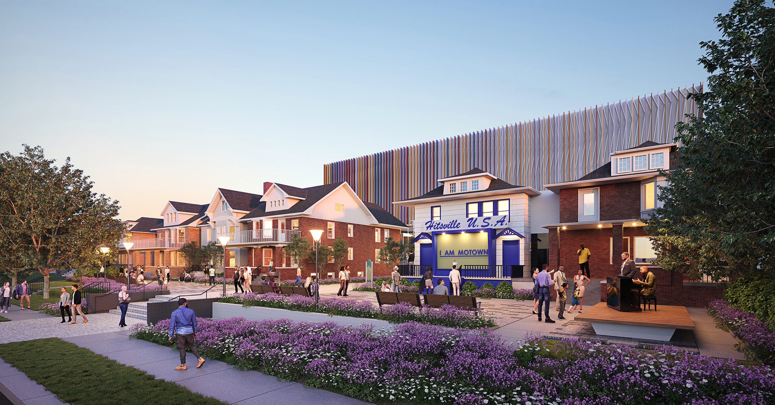 Hitsville transformed: First look at Motown Museum's new plaza as expansion fund hits $32M